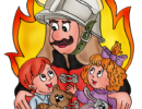 Основные правила поведения при пожаре